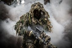 Lithuanian armed forces sniper, 2014