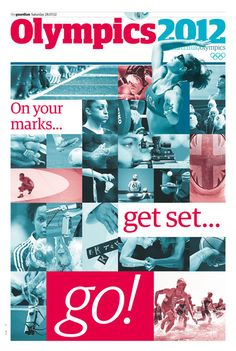 Guardian daily Olympic supplement