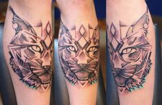 custom Lynx www.facebook.com/travelingtattoostudio soon in Melbourne!