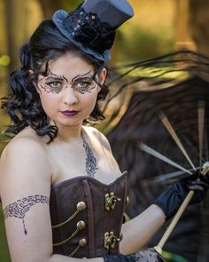 Shooting #Steampunk with Morgane @pookygoth  Complet album on my facebook page see my bio description  #Steampunkstyle #Steampunkart #facepainting #Steampunkgirl #Steampunkfashion #Steampunkcosplay #Punk #Fantasy #Industrial #Art #Portrait #Smile #Makeup #Costume #Cosplay #Beautiful #Style #amazing #photooftheday #model #fashion #follow4follow #like4like #followme #Paris #France #facepainting #bodypainting #painting