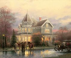 Thomas Kinkade - Christmas Memories  1993