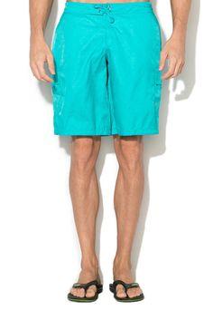 Moschino Men Classic Jacquard Blue Swim Shorts Bermudas Logo #Moschino #BoardShorts