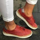 Sneakers Damesko Slip On Hollow Out Dame Flats Damer Loafer . Helena SkinnskolettAwesome Ladies Shoe Shopping Ideer, du har brug for at videUltraboo. Women's Espadrilles, Loafer Flats, Women's Loafers, Ladies Espadrilles, Blue Loafers, Oxford Flats, Tassel Loafers, Peep Toe, Casual Heels