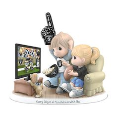 Every Day Is A Touchdown With You Raiders Figurine