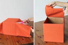 2013 09 05 15 12 091 DIY: Aproveitando caixas de papelão na organização da casa