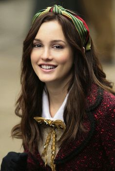 Leighton Meester on blair waldorf