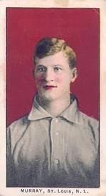 1910 Philadelphia Caramel E96 #24 Red Murray Front