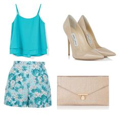 """""""Untitled #72"""" by jalaya06 on Polyvore featuring MANGO, New Look, Jimmy Choo and Accessorize"""