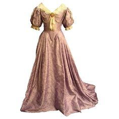 18th century costume ❤ liked on Polyvore featuring dresses, gowns, costume, victorian and long dresses