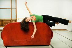 "Rehearsing ""Rebelltanz"" - photo Marco Borrelli"