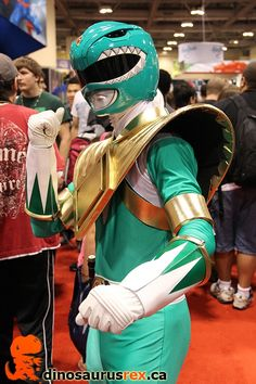 Green Ranger | | FAN EXPO 2012 #PowerRangers #Cosplay #Toronto | http://www.dinosaurusrex.ca