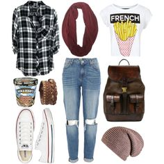 """she's not so sure - amy raudenfeld, faking it"" by starsshineout on Polyvore"