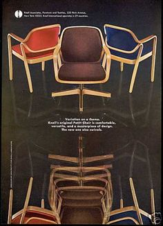 Pearson Chair by Knoll - 1968 | 50s-60s | Pinterest | Retro office ...
