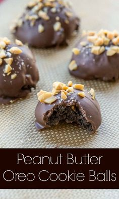 Peanut Butter Oreo Cookie Balls
