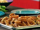 Rajun' Cajun Onion Rings Recipe : Guy Fieri : Recipes : Food Network