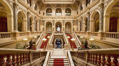 Interior of the National Museum, Prague