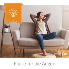 Pause für die Augen Pause, Recliner, Chair, Decor, Tired Eyes, Decoration, Recliners, Stool, Decorating