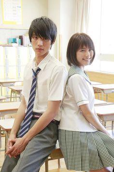 『ストロボ・エッジ』の主演に話題作に引っ張りだこの福士蒼汰と有村架純が決定した。Say I Love You Japanese movie on good drama.net   (2014)