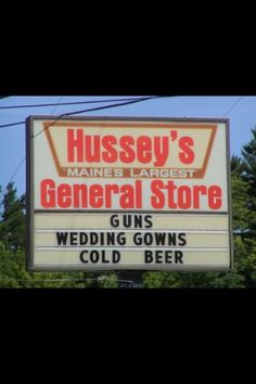 One stop shop for a country wedding!!