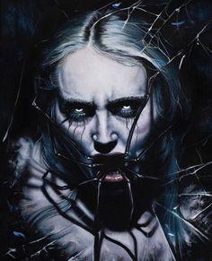 Darkness Falls, Macabre, Creepy, Witch, Joker, Fictional Characters, Art, Art Background, Kunst