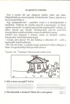 Szövegértés gyakorlásához feladatlapok, 2. osztály - kossuthsuli.lapunk.hu Worksheets, Album, Teaching, Memes, Archive, Dyslexia, Meme, Literacy Centers, Education