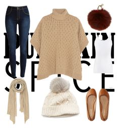 """""""Pumped Spice"""" by grace-kirtley on Polyvore featuring MICHAEL Michael Kors, SIJJL, Cash Ca, Yves Salomon, Aéropostale, Vince, Fall, starbucks, pumpkinspice and idontlikecoffee"""