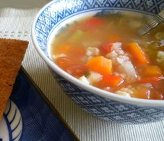 Vegetable-Rice Soup Recipe