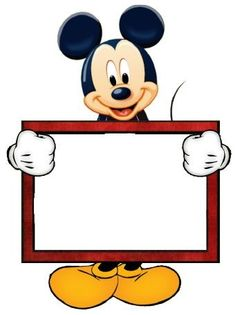 Mice, Page borders and Mickey mouse - ClipArt Best Mickey Mouse Imagenes, Mickey Mouse Clipart, Minnie Y Mickey Mouse, Mickey Party, Mickey Mouse Clubhouse, Mickey Mouse Birthday, Disney Mickey, Walt Disney, Mickey Mouse Frame