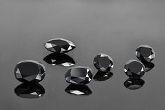 Did you know...just like standard #whitediamonds black diamonds are crystalised carbon. The black color can occur if there are dark inclusions or if a white diamond is treated with radiation or high temperatures. Natural #blackdiamonds ones that are not created with radiation or high temperature are #rare and usually very #expensive.