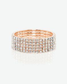 LE CHÂTEAU: Gem Stretch Bracelet