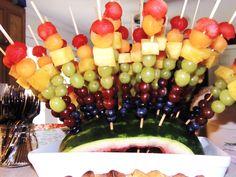 fruit appetizers on skewers - Google Search