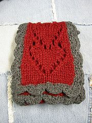 Hearts Scarf Pattern