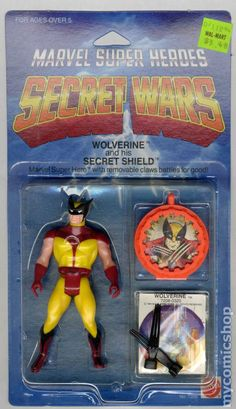 ... Marvel Super Heroes Secret Wars Wolverine Action figure. His first action figure! Mine had the silver claws though.