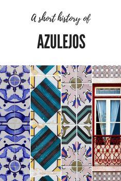 A short history of Azulejos Moorish, 14th Century, Present Day, Tiles, Mosaic, Stone, History, Pattern, Inspiration
