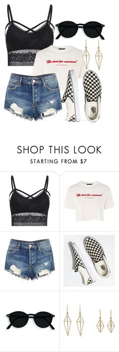 """""""romance"""" by lisalue00 on Polyvore featuring Topshop, Free People and Vans"""