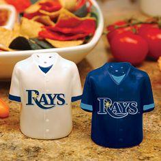 Tampa Bay Rays Salt & Pepper Shakers