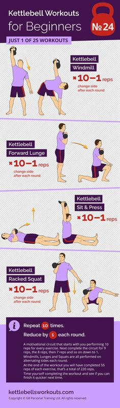 25 Super Effective Kettlebell Workouts for Beginners A fun and motivational kettlebell circuit for beginners that will activate over 600 muscles in your body. Kettlebell Training, Kettlebell Core Workout, Kettlebell Workouts For Women, 7 Workout, Kettlebell Weights, Kettlebell Challenge, Kettlebell Swings, Tabata, Fun Workouts