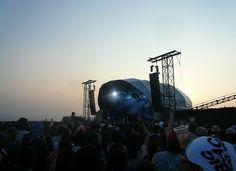 빅 비치 페스티발 Chemical Brothers DJing 보러 갔을때 Big Beach Festival, Chiba Japan