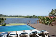 If you like a little style mixed in with your sea and sand on a beach holiday, Zinkwazi Laguna is for you. Laidback luxe at its best. Kwazulu Natal, North Coast, Beach Holiday, Rental Property, Pools, South Africa, Vacation, Outdoor Decor, Vacations