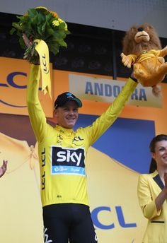 Chris Froome of Great Britain and Team Sky retains his yellow jersey with a sixteen seconds lead after the 184.5 km stage 9 of Le Tour de France from Vielha Val D'Aran to Andorre Arcalis on July 10, 2016 in Andorra la Vella, Andorra.