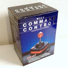Wico Command Control joystick - red ball - Commodore 64