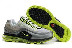 Cheap Cheaper Nike Air Max Mens Grey Green And Black Sneaker Sale Store a2e8b7daf
