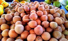 Sapodillas at San Antonio Green Market http://trinichow.com/2013/04/17/san-antonio-market-trinidad/