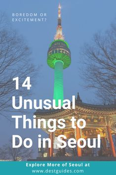 There are many off the beaten path things to do in Seoul city in South Korea. If you need ideas for fun and quirky activities to do in Seoul South Korea then check out our list for the top 14 unique things to do in Seoul. Seoul Korea Travel, South Korea Seoul, Asia Travel, Canada Travel, Norway Travel, Time Travel, Stuff To Do, Things To Do, Best Places To Travel