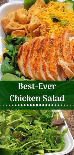 Fresh Chicken Salad Recipe on This Favorite Site. Famous Recipe Chicken, Great Chicken Recipes, Chinese Chicken Recipes, Chicken Salad Recipes, Meat Recipes, Healthy Stuffed Chicken, Fresh Chicken, Turkey Food, Sesame Chicken