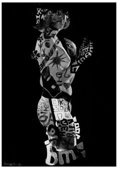 Série Au-delà du déclic (version numérique) de Maurice Lemaitre D.R 1965-1969. Maurice, Photos, Joker, Fictional Characters, Lyrics, Art, Photography, Pictures, The Joker