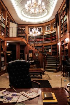 Ideas home library room architecture Home Library Rooms, Home Library Design, Home Libraries, Home Office Design, House Rooms, Office Designs, Library Study Room, Beautiful Library, Beautiful Homes