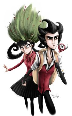 Don't starve Wilson and Willow 2 by propimol on DeviantArt <— I DONT THINK YOU UNDERSTAND HOW MUCH I LOVE THIS