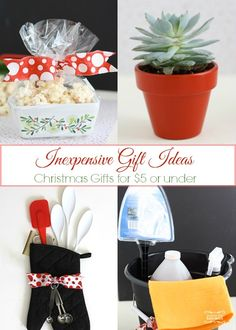 Inexpensive Christmas Gifts for Under $5!