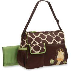wholesale giraffe print diaper bags